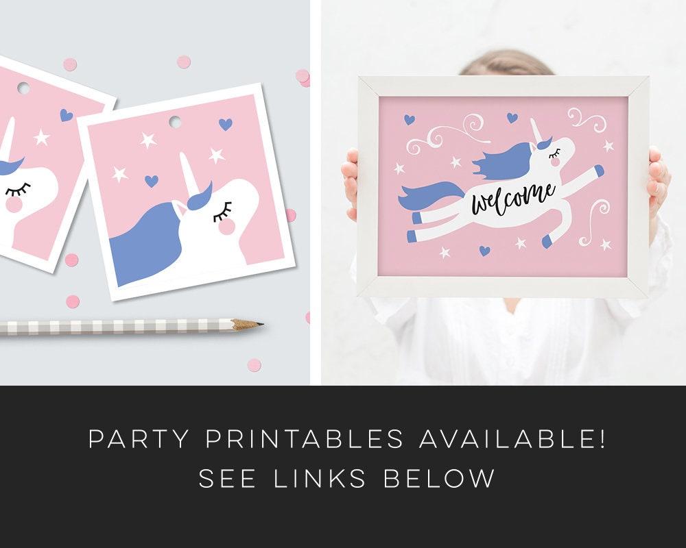 Unicorn Party Invitation Card Gallery Photo