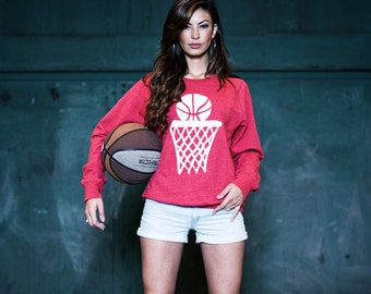 Basketball Sweater Anthony Hayden - Nothing But Net (Red)