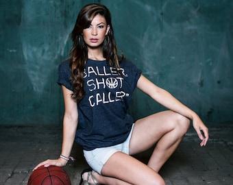 Basketball T-Shirt Anthony Hayden - Baller Shot Caller (Black)