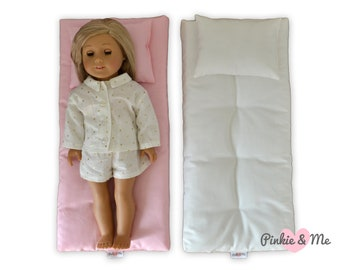 """Doll's Mattress Pad - One size fits An American Girl and An 18"""" Doll"""