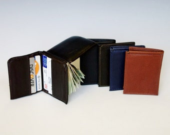 Bookfold Money Clip Wallet