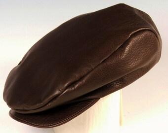English Cap - dark brown