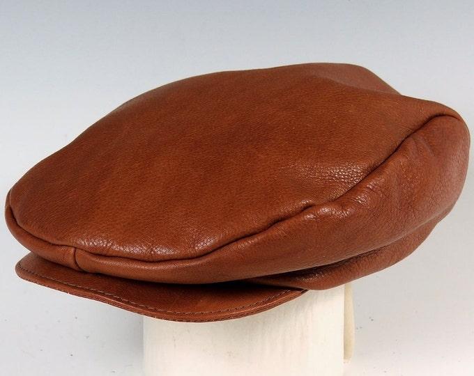 Featured listing image: English Cap - medium brown