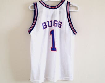 Space Jam Tune Squad Bugs Basketball Jersey 10faabd0c