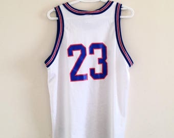 7558cc931 Space Jam Tune Squad Michael Jordan Vintage Champion Basketball Jersey