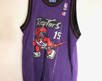 622757f78c8 Toronto Raptors Vintage Champion Vince Carter Jersey