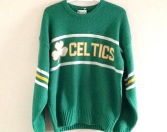 Boston Celtics Cliff Engle Vintage Sweater 82d858218