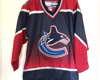 66db37004dd Vancouver Canucks Vintage Koho Alternate Hockey Jersey   Etsy