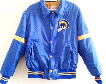 the latest 6b023 4b3f7 Rams starter jacket | Etsy