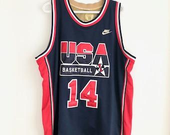 1140beee USA Basketball Vintage Nike Charles Barkley Jersey