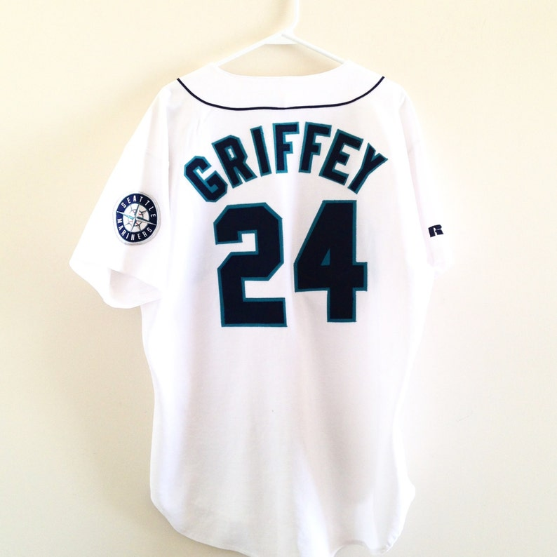 online store e306f 02707 Seattle Mariners Ken Griffey Jr. Russell Athletic Authentic Jersey
