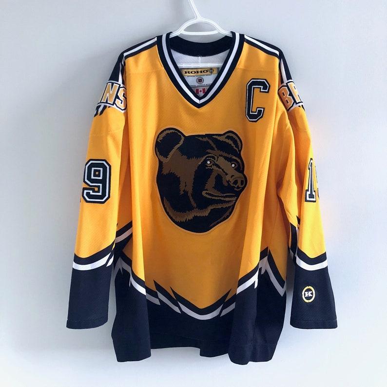 8c0e09160 Boston Bruins Vintage Koho Hockey Pooh Bear Jersey