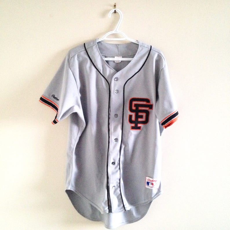 more photos 879c1 b219a San Francisco Giants Vintage Rawlings Authentic Baseball Jersey