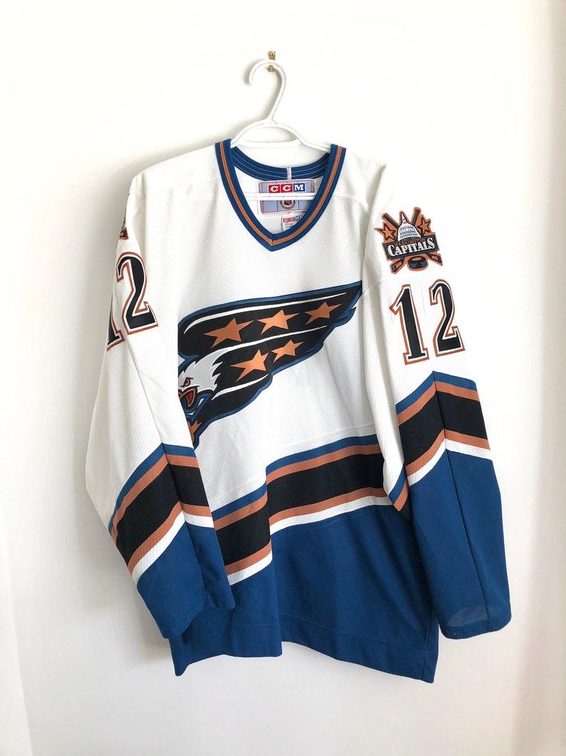 new style d890b 8981d Peter Bondra Washington Capitals Vintage CCM Hockey Jersey