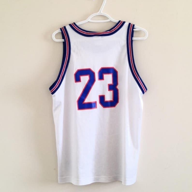 buy popular 6bb00 bdeee Space Jam Tune Squad Michael Jordan Vintage Champion Basketball Jersey