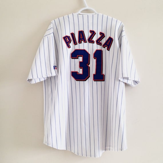 purchase cheap 8584f 2ea6a NY Mets Russell Athletic Baseball Jersey