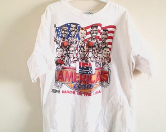 USA Dream Team Big Head Tshirt