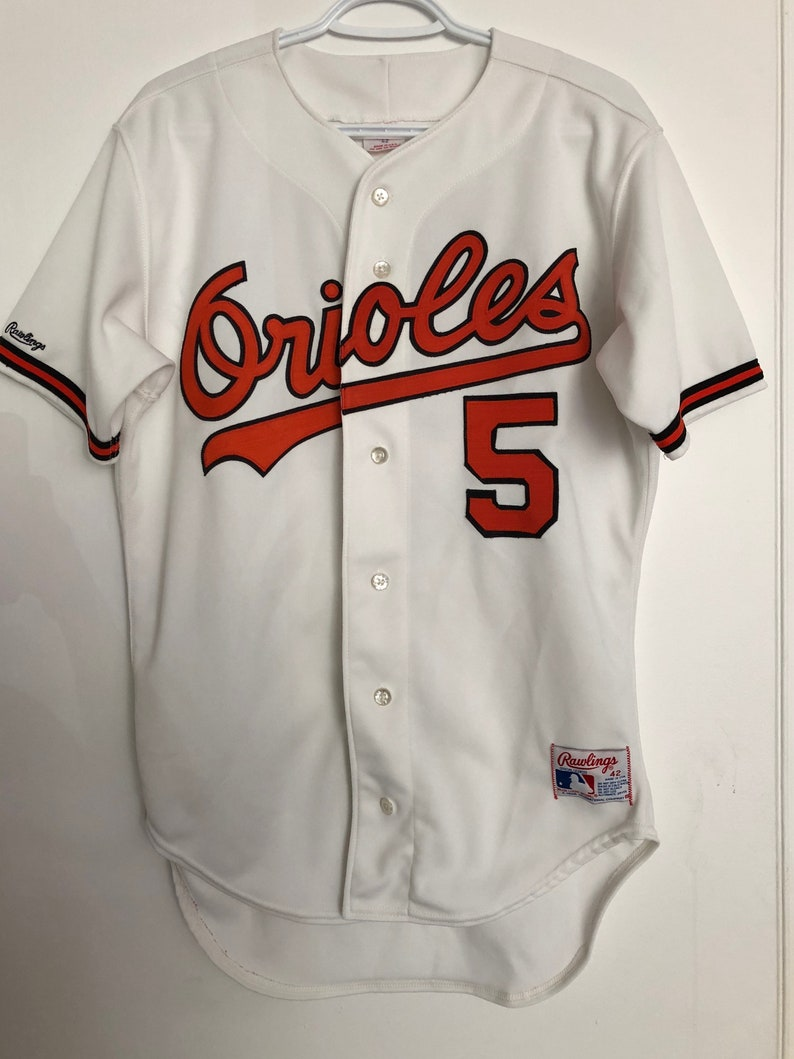 best service 80e9f 9a728 Baltimore Orioles Vintage Rawlings Authentic Baseball Jersey