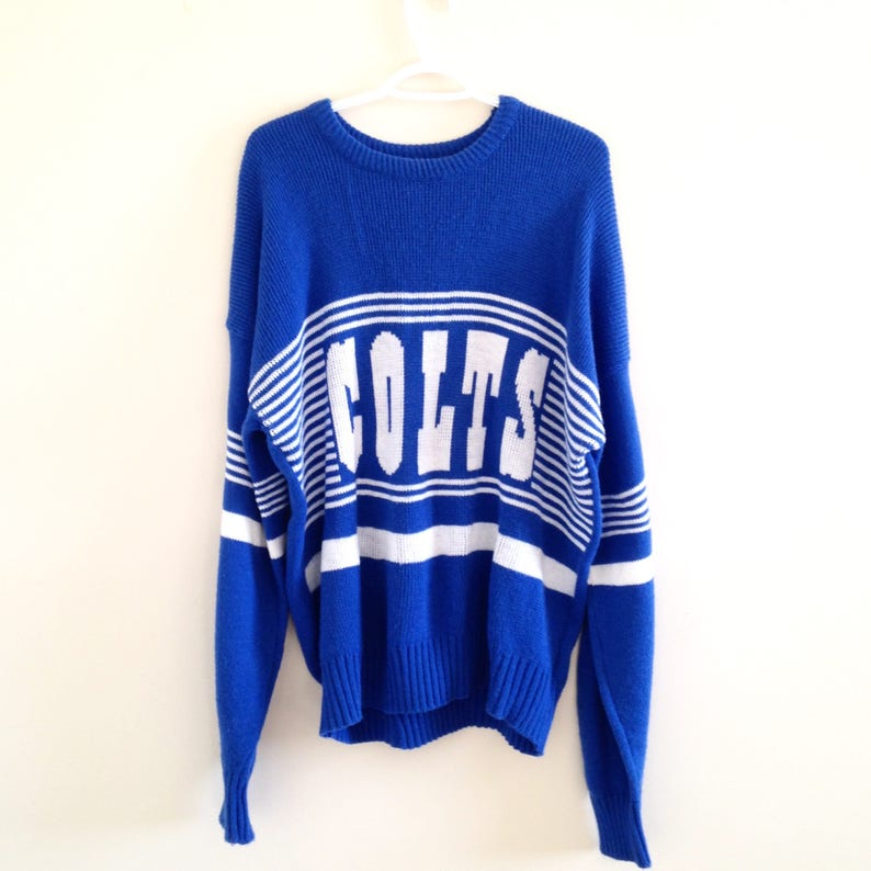 new concept fe1d7 db51e Indianapolis Colts Cliff Engle ProLine NFL Knit Sweater