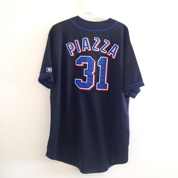 NY Mets Russell Athletic Baseball Jersey
