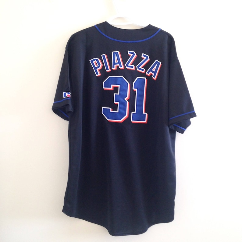 0651314b2 NY Mets Russell Athletic Baseball Jersey