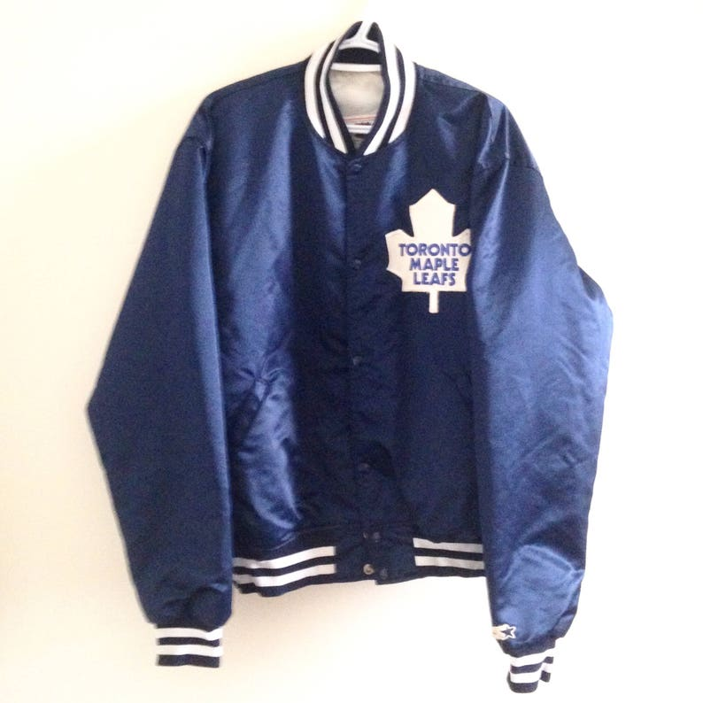b5c0e7da47d Very Rare Toronto Maple Leafs Starter Hockey Jacket