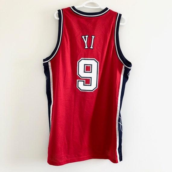 Yi Jianlian New Jersey Brooklyn Nets Basketball Je