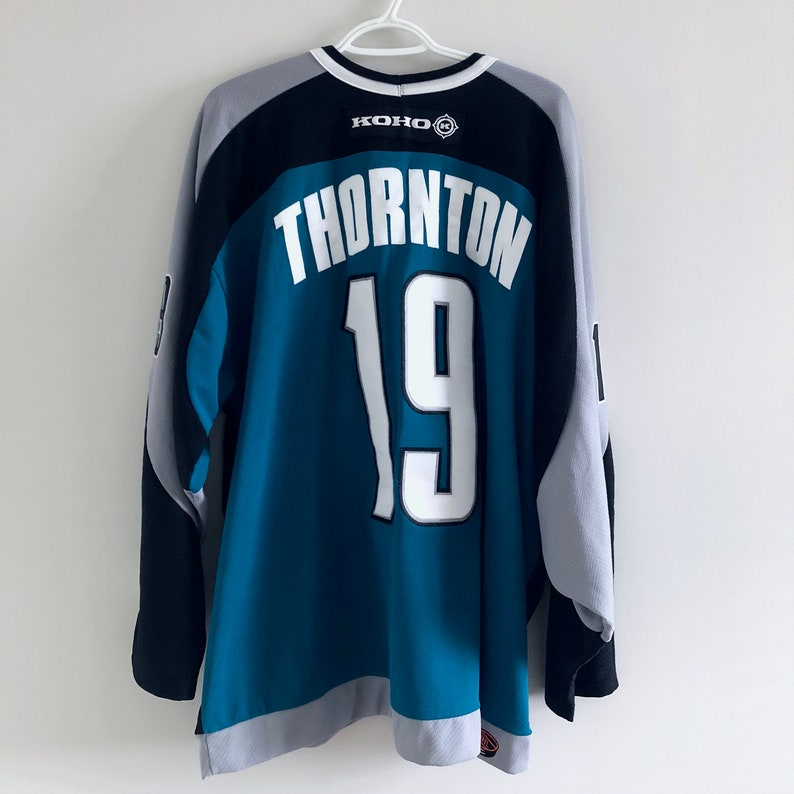 new arrivals d28a3 1c913 San Jose Sharks Vintage Koho Hockey Jersey