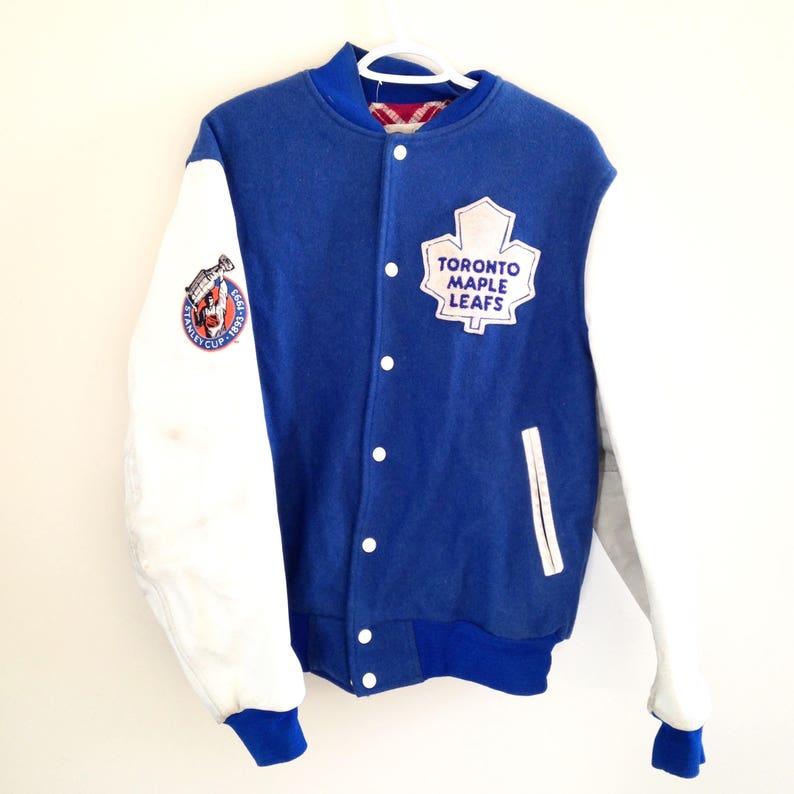 116a667280f Toronto Maple Leafs Shain of Canada Vintage Varsity Jacket