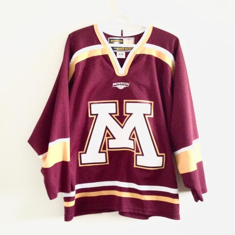 sale retailer 29d85 58ead Minnesota Golden Gophers Hockey Jersey