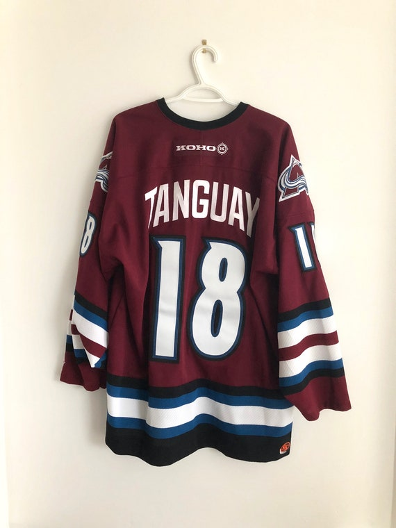 separation shoes 1d1fc 82980 Colorado Avalanche Vintage Koho Alternate Tanguay Hockey Jersey