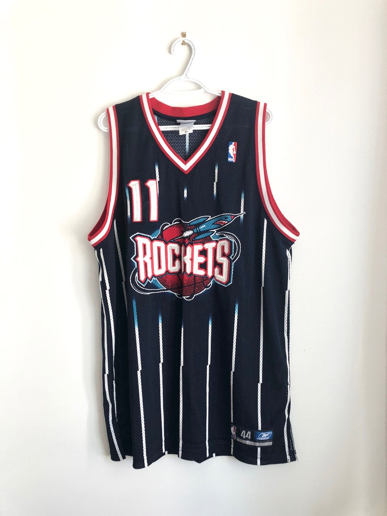 buy online e656e fed29 Yao Ming Vintage Reebok Authentic Basketball Jersey