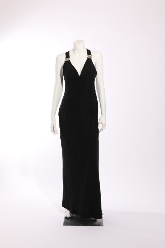 1990s Gianni Versace Couture Evening Dress