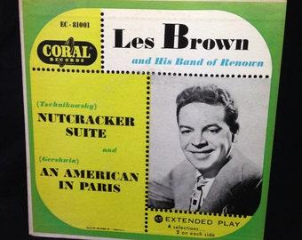 "Les Brown and His Band of Renoun - 7"" EP"