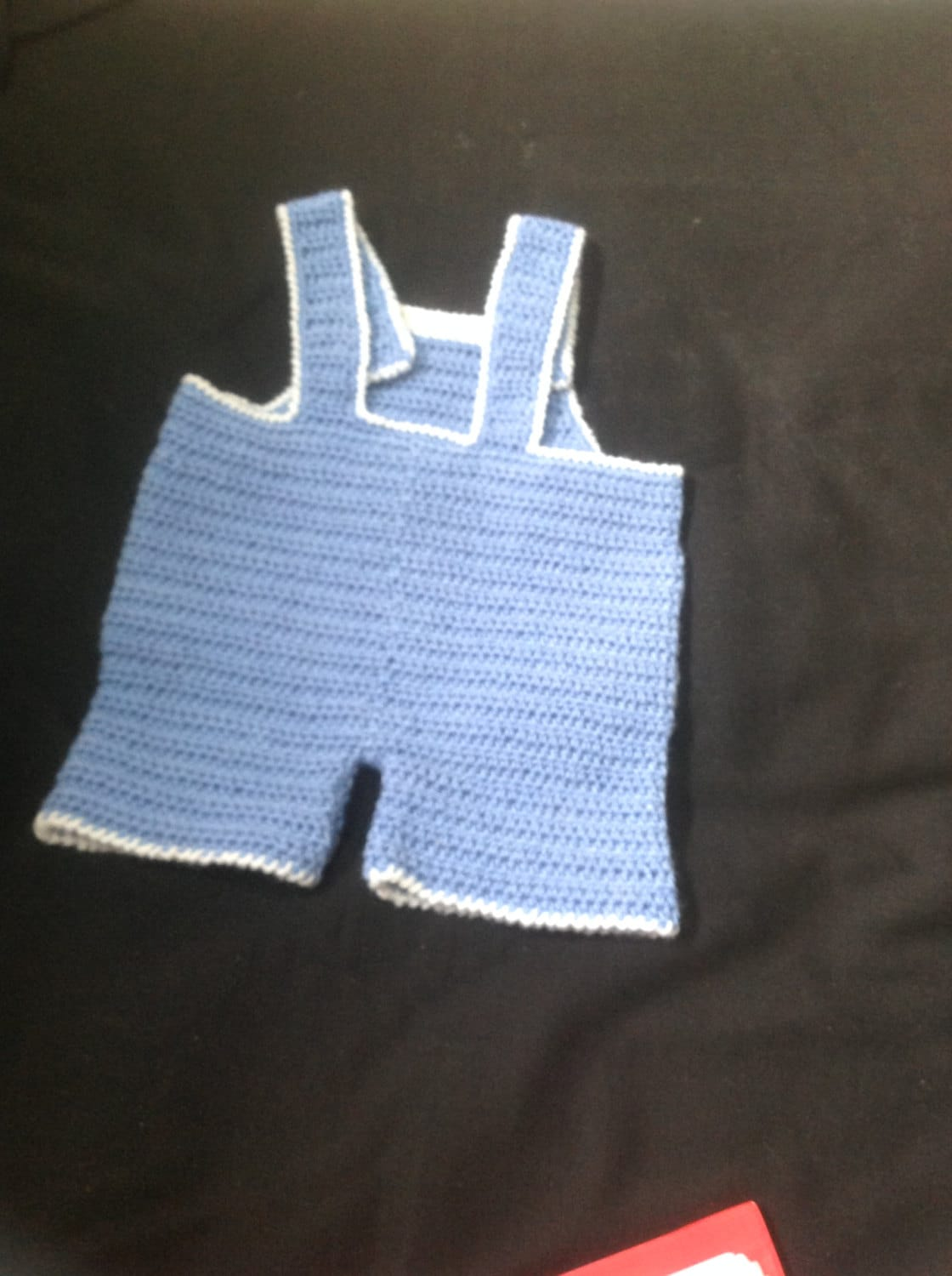 Baby Boy Girl Crochet Dungaree Overalls Romper Twins Dungaree