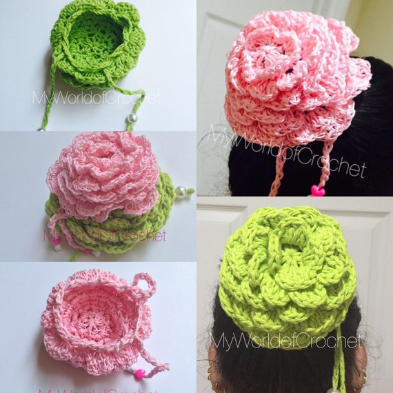 Crochet Bun Cover Pattern Ballet Dance Bun Holder Horse Show Hair