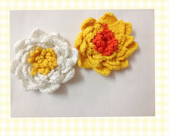Crochet Lily Flower Pattern Etsy