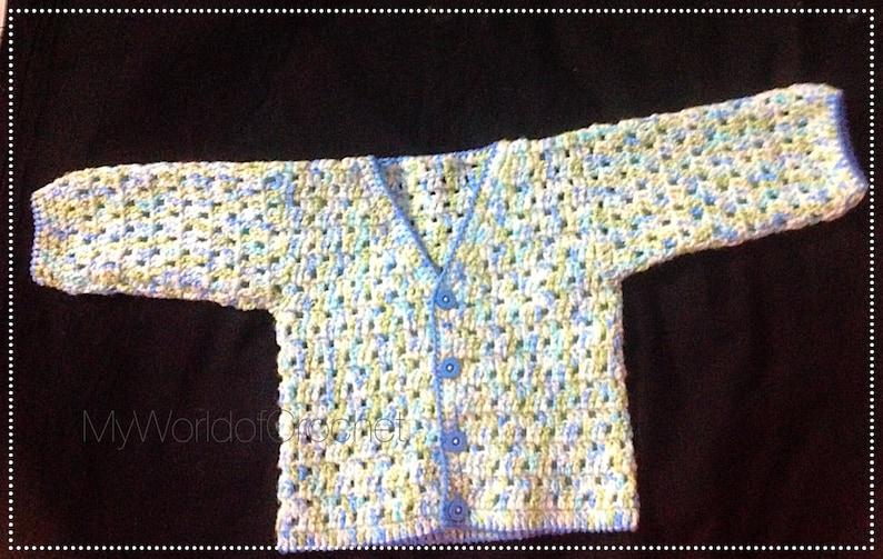 872ba5117 Baby Sweater Patterns Baby Boy Crochet Sweater Patterns