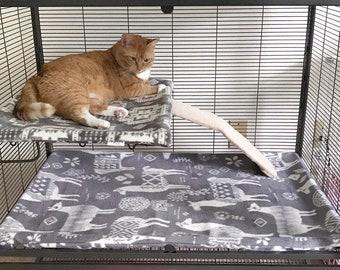 Critter Nation Cage Liner - Ferret Nation Pillowcase Style Liners - CN Cage Liners - FN Fleece Liners - Hedgehog Cage Liner - Rat Cage