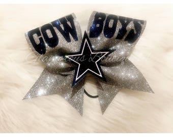 Cowboys Cheer Bow