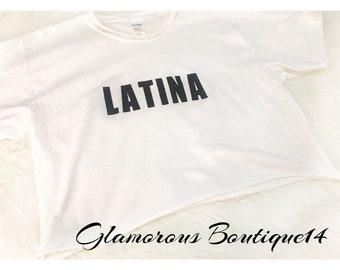 Latina crop top