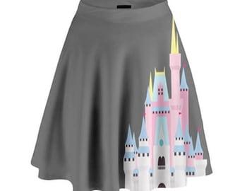 Castle Skirt // Run Disney // Disney Skirt // Disneyland // Walt Disney World // Cinderella Castle // Sleeping Beauty Castle