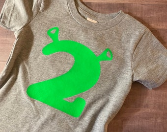 c550ff6d4 Shrek Birthday Shirt - Personalize with Age
