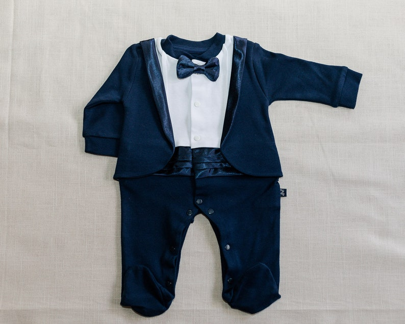 fb8c38225c24 Newborn tuxedo baby boy outfit newborn boy coming home outfit