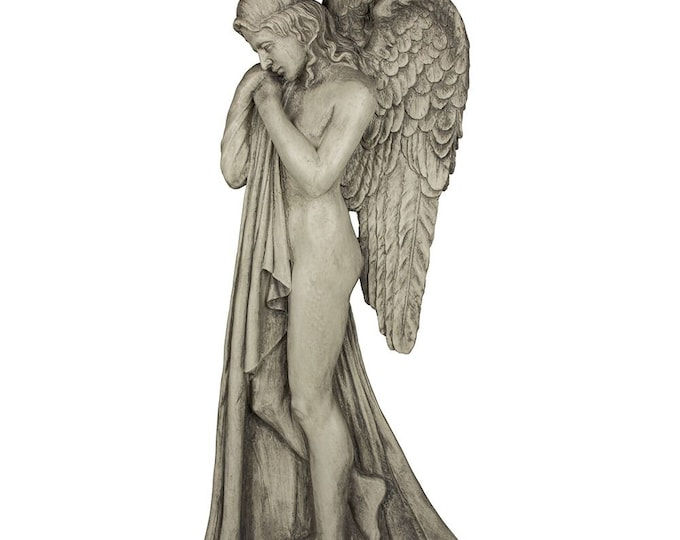 Angel with Wings - Wall Mounted Figurine