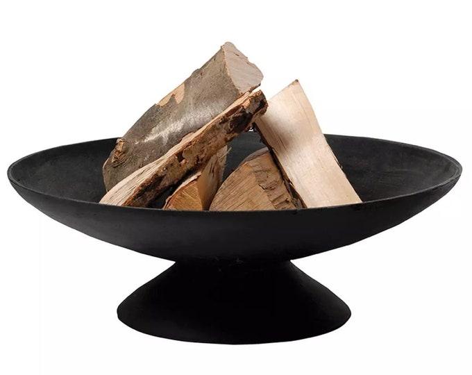 Fire Pit Bowl Ø 59 cm black Cast Iron