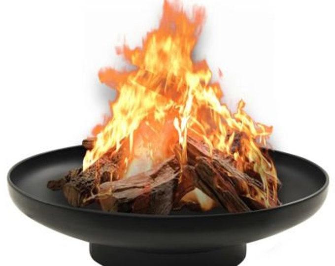Fire Pit Bowl Ø 80 cm Black Steel