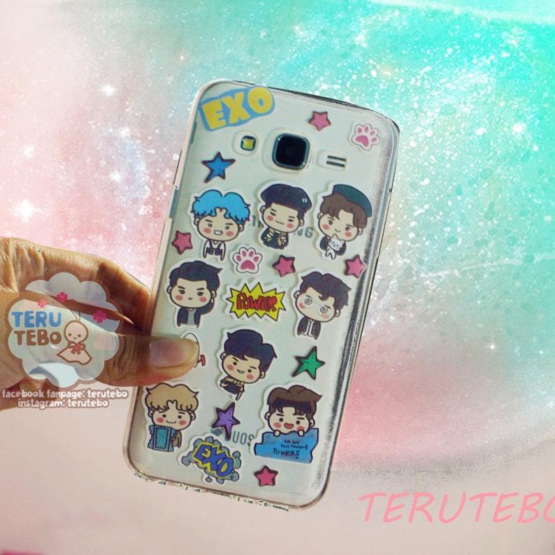 Exo Stickers Exo Power Exo Phone Stickers Exo Deco Etsy