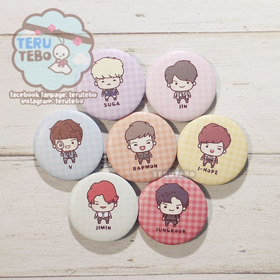 Bangtan Boys Dope Kpop Bts Badges Buttons Pin Etsy