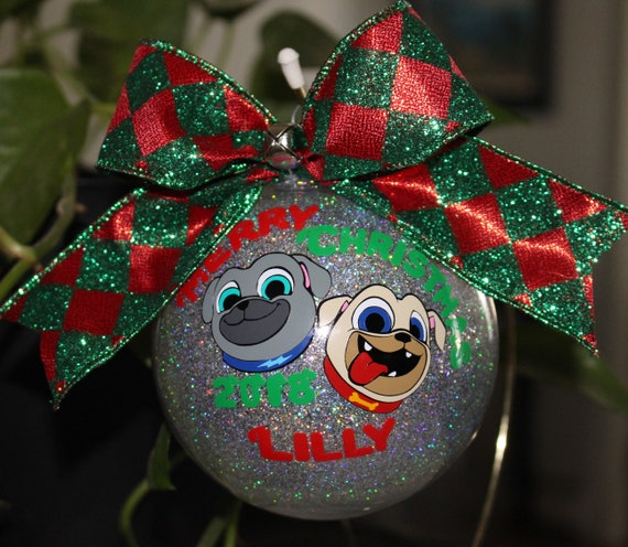 Puppy Dog Pals Ornament Personalized New Baby Ornament 4 Etsy